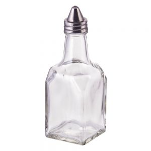 Winco G-104 6 oz Glass Oil / Vinegar Cruet