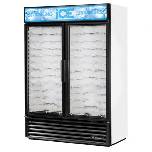 Ice Merchandiser, Two-Section, Without Tank, 49 Cu. Ft.