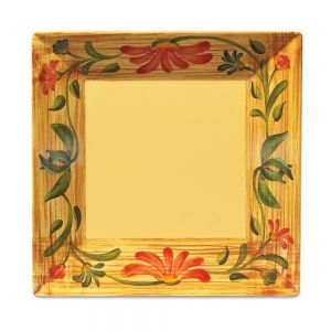 14 In Venetian Square Plate - 6/Case