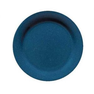 9 In Texas Blue Round Dinner Plate - 24/Case