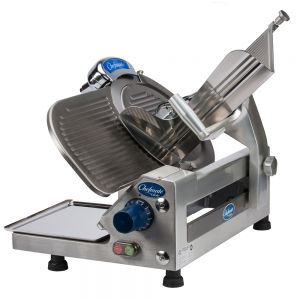 Chefmate Medium Duty Manual Slicer, 12 Inch Blade