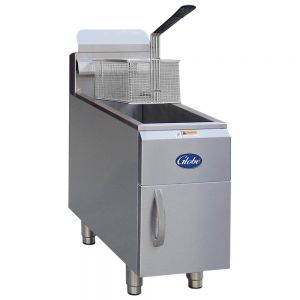 15 Lb Gas Countertop Fryer - Natural Gas