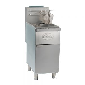35 Lb Natural Gas Floor Fryer