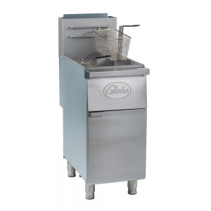 50 Lb Natural Gas Floor Fryer
