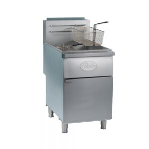 80 Lb Natural Gas Floor Fryer