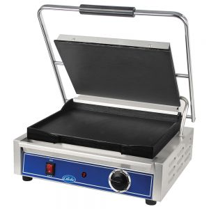 Mid-Size Panini Grill with Smooth Plates