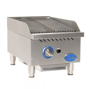 "15"" Gas Charbroiler with Cast Iron Radiants"
