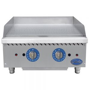 """24"""" Medium-Duty Electric Countertop Griddle"""