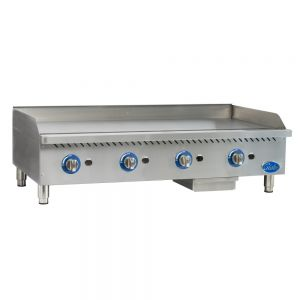 "48"" Gas Countertop Griddle"