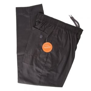 PANTS CHEF ECONO BLACK XL