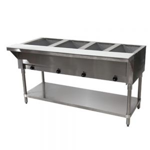 Hot Food Table - 4 Wells, 208-240V
