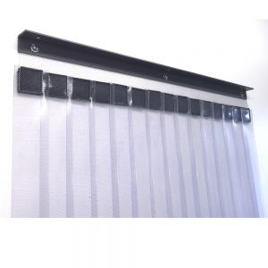 FlexCool Single Layer Economy Cooler / Freezer Strip Curtain