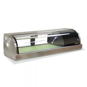 Refrigerated Right Sushi Display Case 47 Inches