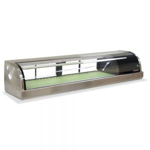 Refrigerated Right Sushi Display Case 59 Inches