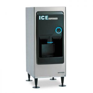 Ice Dispenser with 130 Lb Storage, Air Cooled