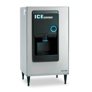 Ice Dispenser with 200 Lb Storage, Air Cooled