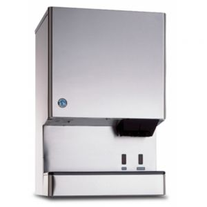 590 Lb Opti-Serve Series Ice Maker / Dispenser w/ 40 Lb Built-In Ice Storage Bin - Hands-Free Operation