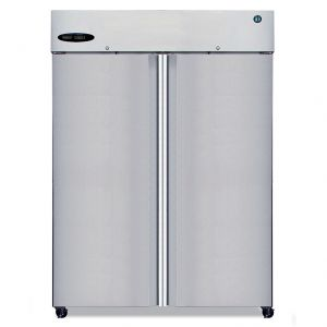 Hoshizaki R2A-FS Steelheart Two Section Full Door Refrigerator
