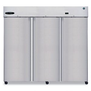 Hoshizaki R3A-FS | Steelheart Three Section Full Door Refrigerator