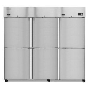 Hoshizaki R3A-HS Steelheart Three Section Half Door Refrigerator