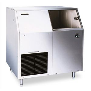 Undercounter Ice Maker, Self Contained S/S Flaker 303 Lb. with 110 Lb. Built In Bin