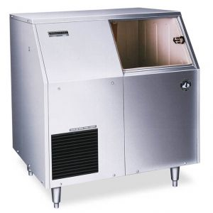 Undercounter Ice Maker, Self Contained S/S Flaker 501 Lb. with 250 Lb. Built In Bin