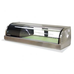 Refrigerated Left Sushi Display Case 47 Inches