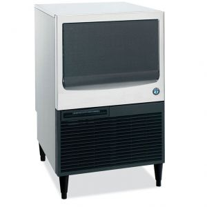 Undercounter Ice Maker, Self Contained Cuber 153 Lb. with 78 Lb. Built In Bin