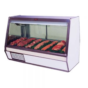 Deli Case, Red Meat Deli Display Case, Single Duty, 74 Inch