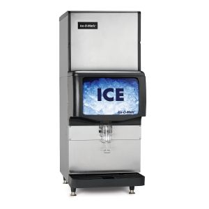 Countertop Ice Dispenser for 22″ or 30″ ICE Series Cubers or 21″ GEM Pearl Ice Machines w/ 200 Lb Ice Storage