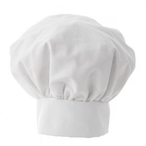 Chefs Hat, Deluxe with Velcro 13 Inches Tall