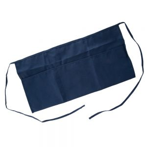 Waist Apron, 3 Pocket, Navy Blue