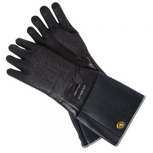 "Intedge 6718R-06-10 18"" Long Neoprene Gloves"