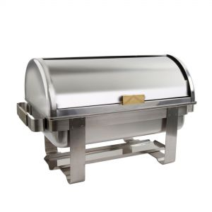 Full Size Roll Top Chafer, 11 Quarts