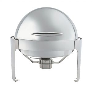 Round Roll Top Chafer, 6 Quarts