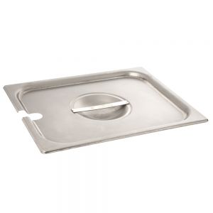 Notched Half Size Steam Pan Cover