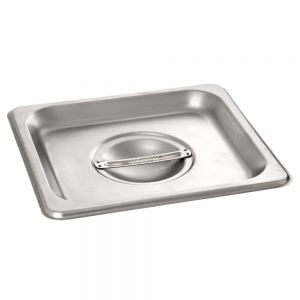 Solid Sixth Size Steam Pan Cover