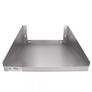 24 Inch Stainless Steel Microwave Shelf