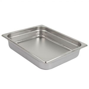 Half Size Steam Table Pan, 2-1/2 Inches