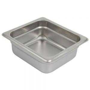 Sixth Size Steam Table Pan, 2-1/2 Inches