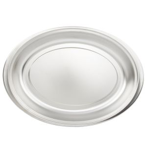 Oval Food Pan for CO9RT, 24 Gauge, 200 Series Stainless Steel