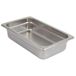 Anti Jam Food Pan, Fourth Size, 2-1/2 Inches