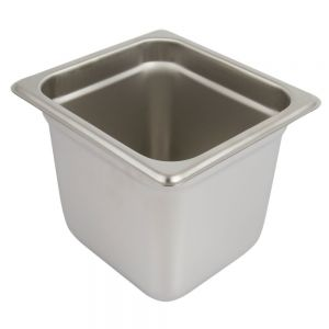 Sixth Size Steam Table Pan, 6 Inches