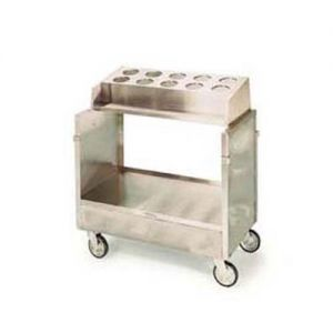 Tray & Silver Cart For 16x22 Trays