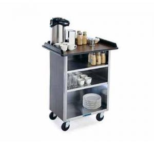 Beverage Service Cart, (3) 21 x 50 Interior Shelves