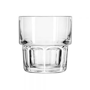 Libbey 15659 9 oz. Stackable Rocks Glass - Case of 36