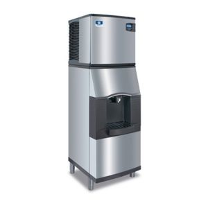 120 Lb Vending Style Ice and Water Dispenser