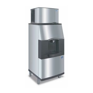 180 Lb Vending Style Ice and Water Dispenser