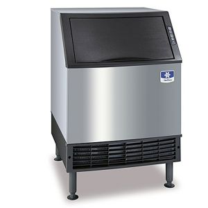 NEO Undercounter 225 lb Half Dice Cube Ice Maker - Air Cooled