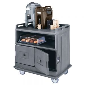 Beverage Service Cart, Flat Top, 44-1/2L X 30W X 44H